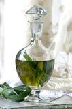 Préparation de la vodka d'herbe de buffle Images stock