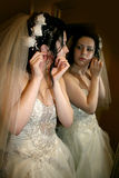 Préparation de mariage Image libre de droits