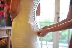 Préparation de mariage photo stock