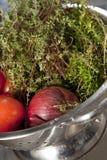 Préparation de nourriture. image stock