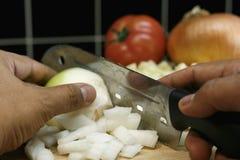 Préparation de nourriture Photographie stock