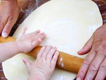 Préparation de pâte Images libres de droits