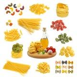 Préparation de pâtes Images stock