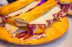 Préparation de sandwich, le meilleur dans le monde photos stock