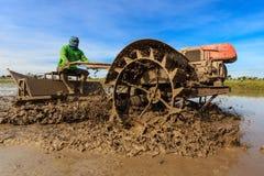 Préparation de terre Images stock
