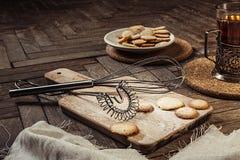 Préparation des biscuits doux Photos libres de droits
