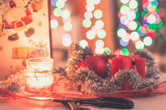 Préparation des cadeaux de Noël Images stock