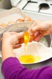 Préparation des pâtes italiennes Photographie stock