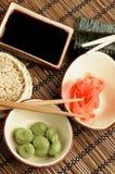 préparation des sushi Image stock