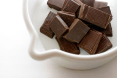 Préparation du chocolat chaud I Photographie stock libre de droits