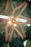 Préparation geste-préopératoire de spécifications Photos stock