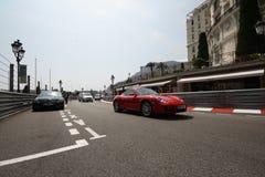 Préparation grande 2011 de piste de Prix F1 Images libres de droits