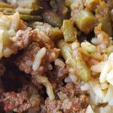 Préparation grecque de nourriture Photos stock