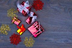 Préparation pendant des vacances de Noël Photographie stock