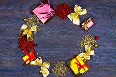 Préparation pendant des vacances de Noël Image libre de droits