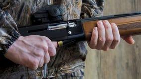 Préparation pour la chasse de printemps ou d'automne images stock