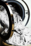 Préparation pour la machine à laver Photo stock