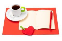 Préparation pour la Saint-Valentin Image libre de droits