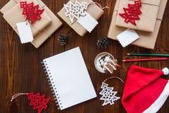 Préparation pour le concept de vacances de nouvelle année Image stock