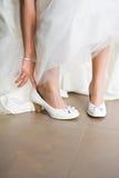 Préparation pour le mariage Image libre de droits