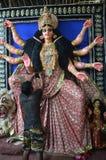 Préparations de festival de neuf jours de déesse dans l'Inde Photos libres de droits