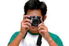 Préparez au projectile Image stock