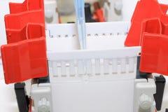préparez empiler le gel pour SDS-PAGE Photo libre de droits
