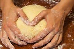 Préparez la cuisson du coeur, Russie Photo libre de droits