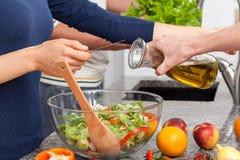 Préparez la salade Photo stock