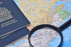 Préparez le voyage d'affaires Photo libre de droits