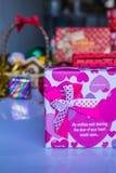 Préparez les cadeaux Image libre de droits