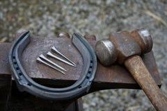 Préparez pour chausser Photo stock