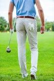 préparez pour jouer au golf Image libre de droits