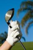 Préparez pour jouer au golf image stock