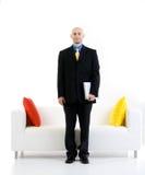 Préparez pour l'entrevue d'emploi Image stock