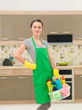 Préparez pour le nettoyage à la maison photo libre de droits