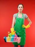 Préparez pour le nettoyage photographie stock