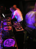 Préparez pour les DJ Photo libre de droits
