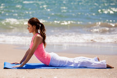 Préparez pour pratiquer du yoga Photographie stock