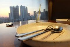 Préparez pour un repas Image stock
