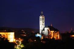 Préposé du service tchèque. Le Hora-UNESCO de Kutna Photographie stock libre de droits