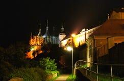 Préposé du service tchèque. Le Hora-UNESCO de Kutna Photos libres de droits