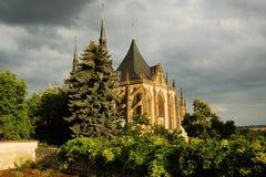 Préposé du service tchèque. Le Hora-UNESCO de Kutna photo stock