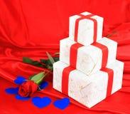 Fond d'art de Saint-Valentin Image libre de droits