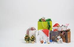 présent de cadeau de Noël Photos stock