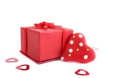 Présent de Valentine Photo libre de droits