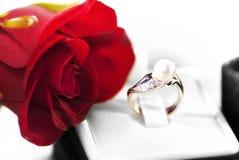 Présent de Valentine images stock