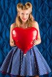 Présent de Valentine Photos libres de droits