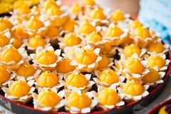 Présent thaïlandais traditionnel de dessert Image stock