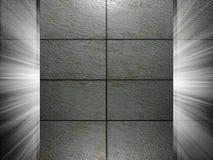 Présentation de la texture 3d de tuiles Images libres de droits